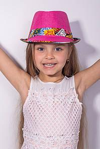 Дитячі капелюхи FAMO Капелюх дитяча Мюстік малинова 53 (SHLD1804) #L/A