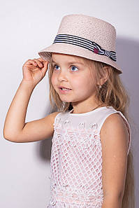Дитячі капелюхи FAMO Капелюх дитяча Ферб пудрова One size (SHLD1807) #L/A