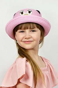 Дитячі капелюхи FAMO Капелюх дитяча Елсмір рожева 52 (SHLD1806) #L/A