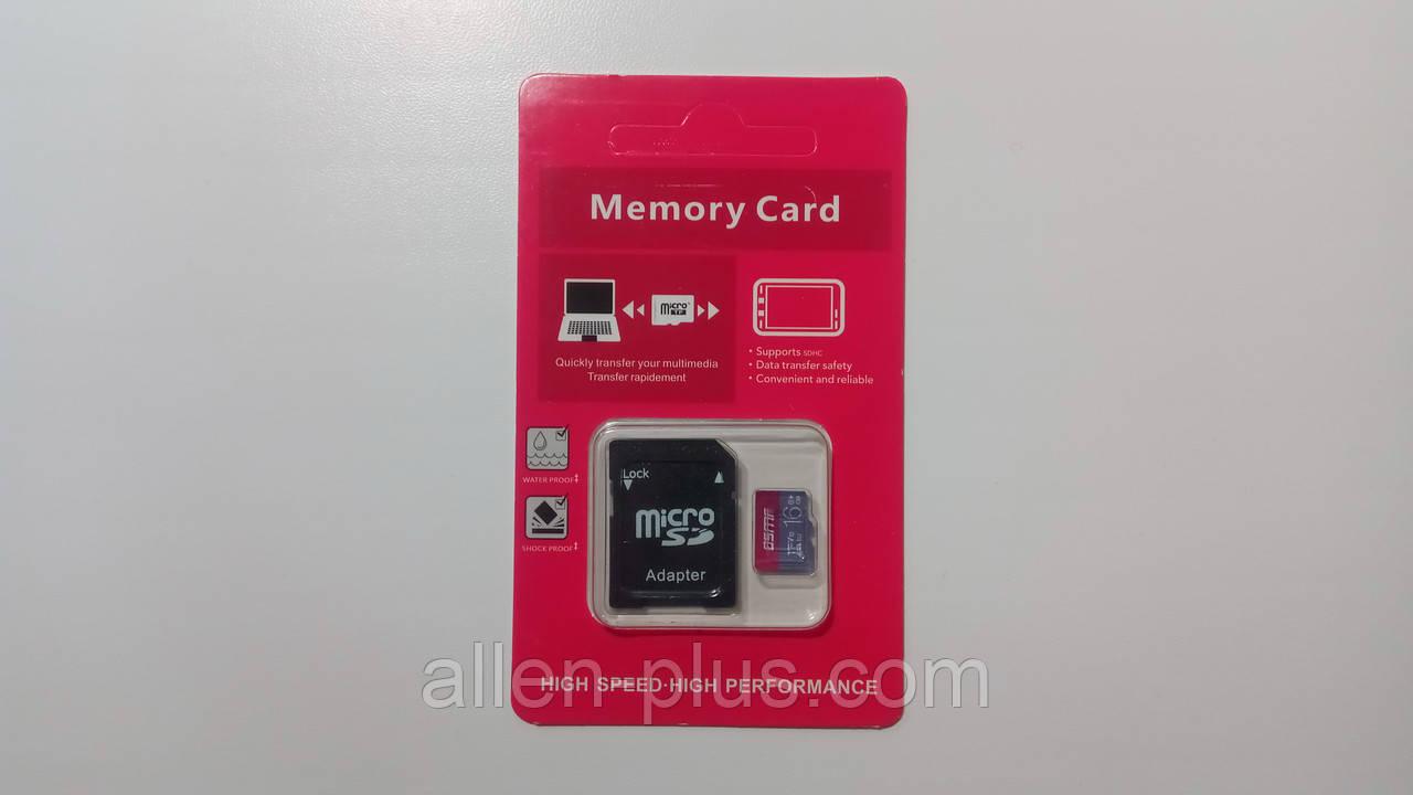 Карта памяти OSMR microSDHC Class 10, 16GB
