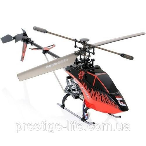 Вертоліт на радіоуправлінні Syma F1 з гіроскопом і світлом Червоний