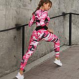 Спортивний костюм лосини і топ. Жіночий костюм для йоги та фітнесу., фото 4