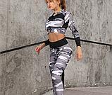 Спортивний костюм лосини і топ. Жіночий костюм для йоги та фітнесу., фото 5