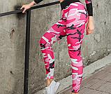 Спортивний костюм лосини і топ. Жіночий костюм для йоги та фітнесу., фото 8