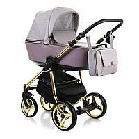 Универсальная коляска 2 в 1 Adamex Reggio Limited Chrom Y811