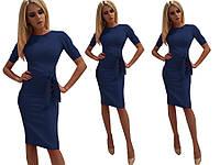Платье футляр с поясом от производителя 42 44 46 48 50 Р, фото 1