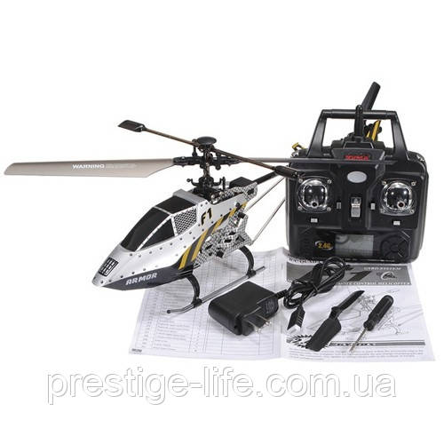 Вертолет на радиоуправлении Syma F1 с гироскопом и светом Серый
