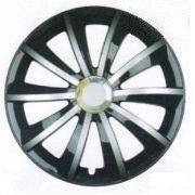 Колпаки колес AGAT Silver-Black Радиус R15 (1шт) Olszewski