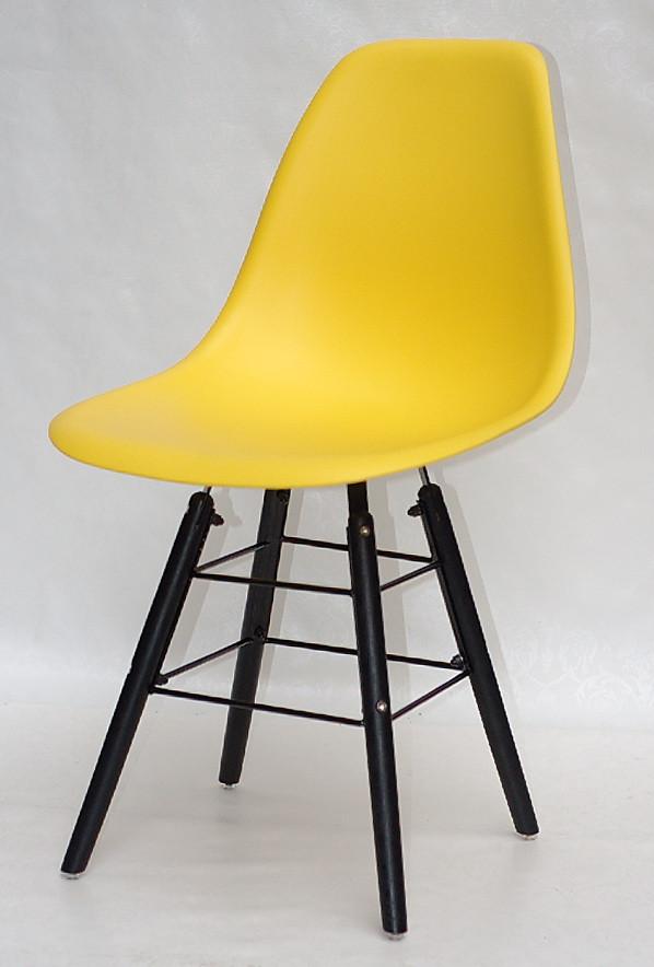 Стілець Nik Q BK Eames, жовтий