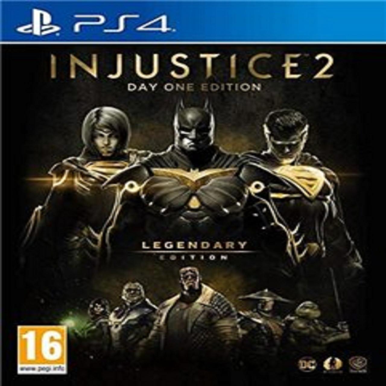 Injustice 2 Legendary  Edition (російські субтитри) PS4