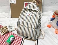 Рюкзак в полоску