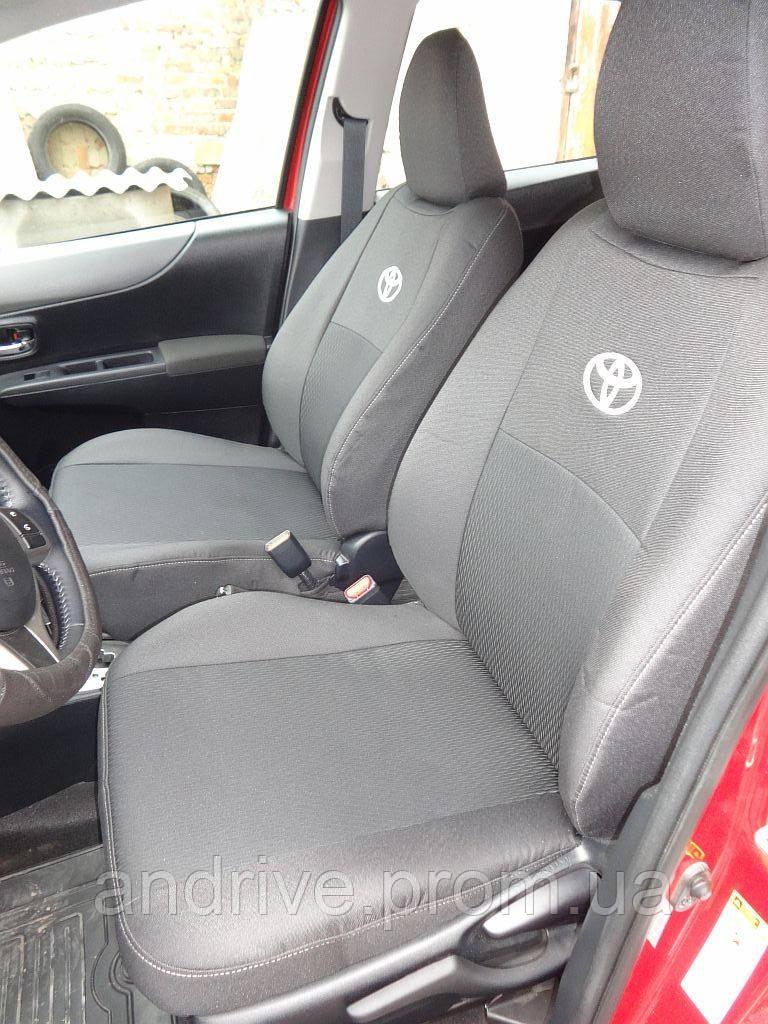 Авточехлы Toyota Yaris Hatchback с 2011 г