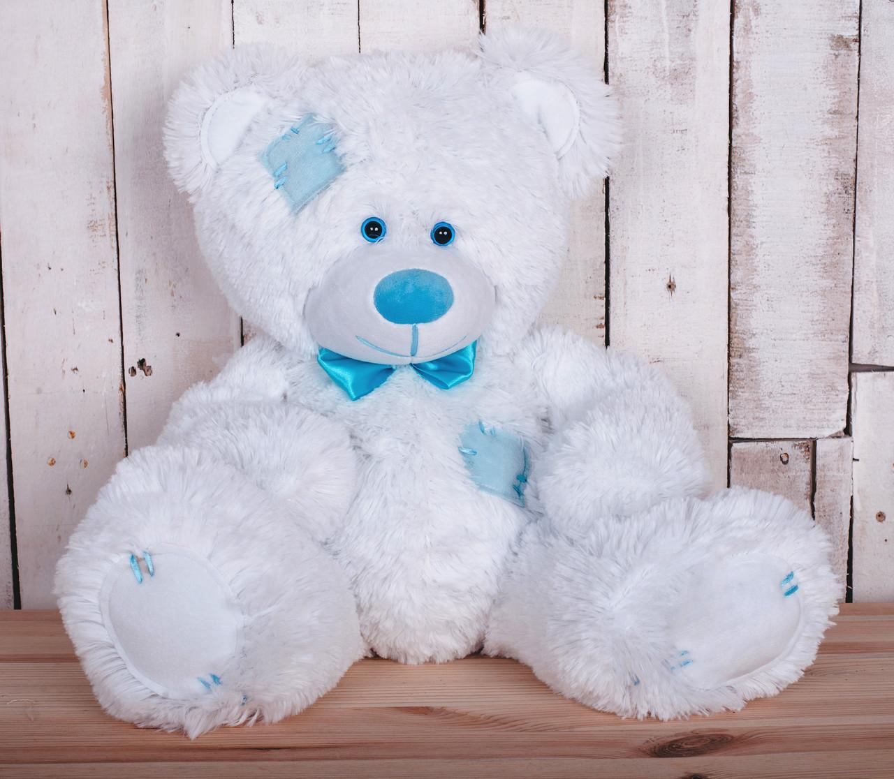 Мишка плюшевый Теодор белый 65 см
