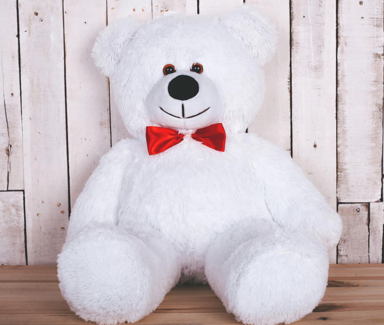 Плюшевый медведь Джимми белый 90 см