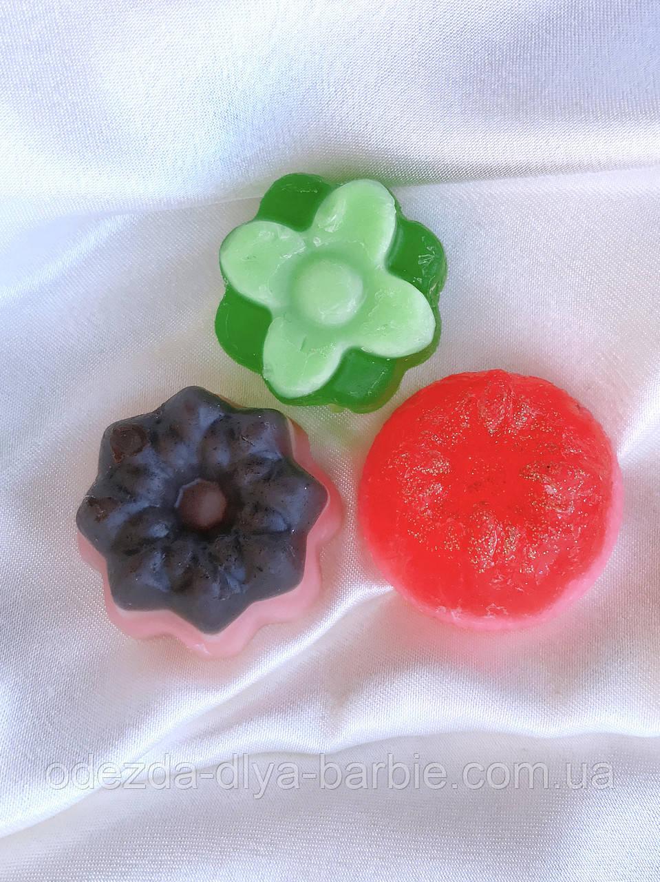 Мыло ручной работы - набор из 3 шт.