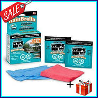 Жидкость Rain Brella для защиты стекла от воды и грязи антидождь для автомобиля Рейн Брелла водоотталкивающе
