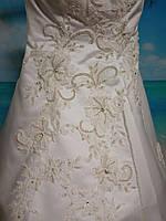 Свадебное платье 44-46 размер б/у