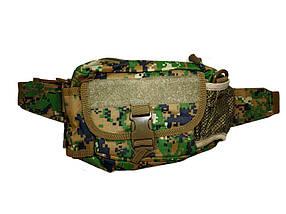 Тактическая сумка на пояс Kronos Top N02220 Камуфляж gr007416, КОД: 915873