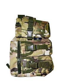 Рюкзак-сумка тактическая военная Спартак N02210 Camo Камуфляж 007411, КОД: 950388