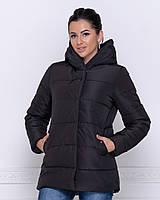 Женская теплая куртка (плащевка+силикон 250), фото 1