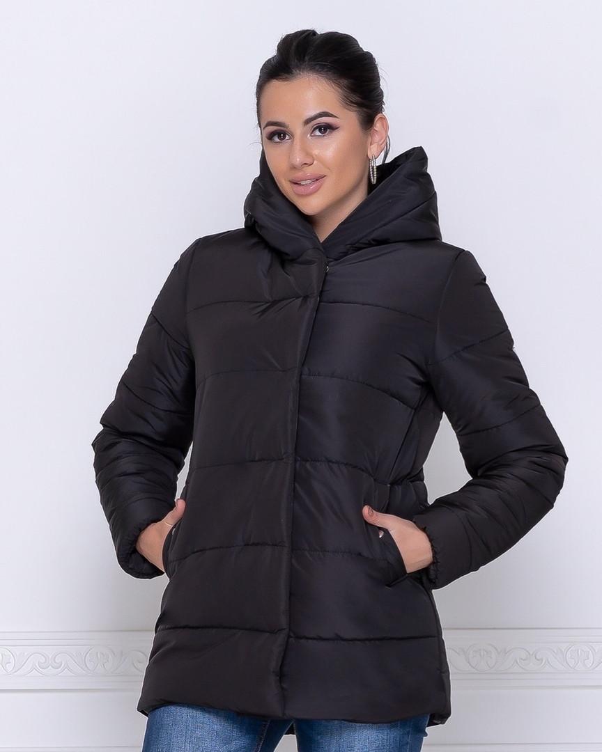 Женская теплая куртка (плащевка+силикон 250)