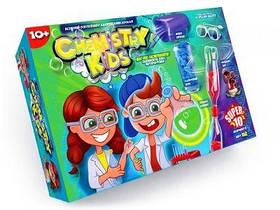 """Большой набор для опытов """"Chemistry Kids"""" (укр)  sco"""