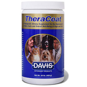 Добавка для шерсти кошек Davis TheraCoat 454 г