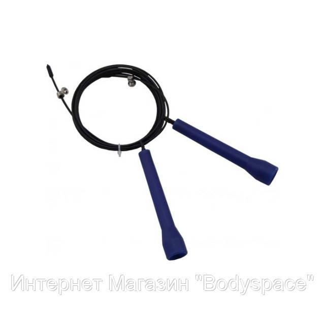 Power System, Скакалка скоростная Ultra Speed Rope PS-4033, черная/синяя