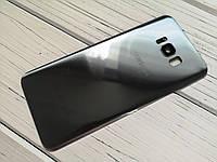 Задняя крышка для Samsung G950 Galaxy S8 серебристая (со стеклом камеры)