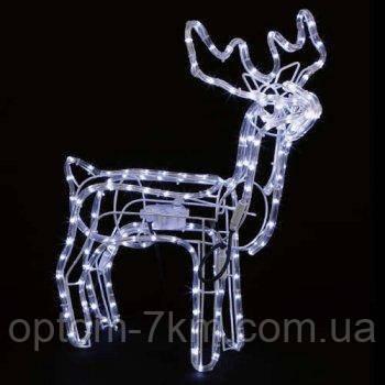 Светодиодный Новогодний LED Олень 45х45см