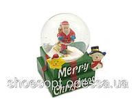 Снежный шар Дед Мороз Cчастливого Рождества