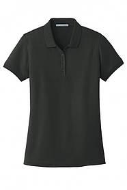 Классическая футболка поло с коротким рукавом Port Authority XL Black hubnp214264, КОД: 972795