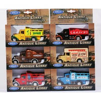 Welly. Antique Lorry 1:34-39 6 видов  //