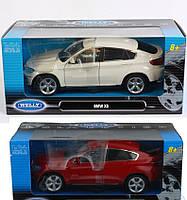 Welly. Машинка 1:24 BMW X6 2 цвета //