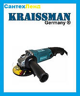 Болгарка  KRAISSMANN 1050-KWS-125 (1050 Вт)