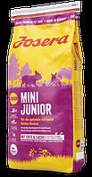 JOSERA MiniJunior 15 кг, Для оптимального выращивания маленьких пород собак