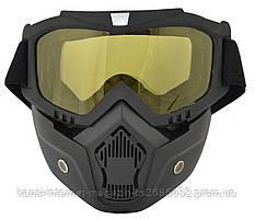 Защитная маска-трансформер для лыжников и сноубордистов