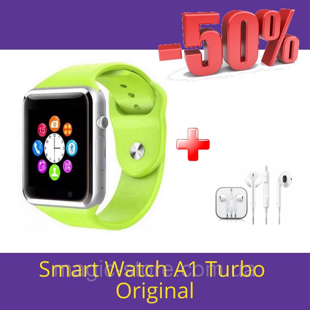 Смарт часы Smart Watch A1 green (салатовый) Умные часы A1 + Подарок