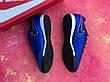 Футзалки Nike Tiempo X футбольная обувь Синие, фото 4