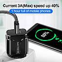 Быстрая зарядка OLAF Qualcomm QC 3.0 18 Вт быстрое зарядное устройство для мобильного телефона, фото 6
