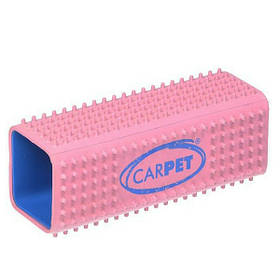 Щітка від шерсті тварин CarPET Pet Hair Remover 12х4х4 см рожева