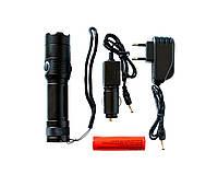 Ручной светодиодный фонарь 803-T6 2025, КОД: 312261