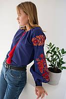 Вишита сорочка жіноча Жарптиця