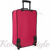 Комплект чемодан и сумка Bonro Best средний вишневый (10080600), фото 5