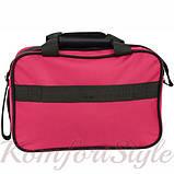 Комплект чемодан и сумка Bonro Best средний вишневый (10080600), фото 6