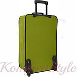 Комплект чемодан и сумка Bonro Best средний зеленый (10080601), фото 6