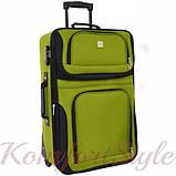 Комплект чемодан и сумка Bonro Best средний зеленый (10080601), фото 2