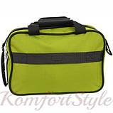 Комплект чемодан и сумка Bonro Best средний зеленый (10080601), фото 7