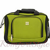 Комплект чемодан и сумка Bonro Best средний зеленый (10080601), фото 3