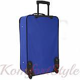 Комплект чемодан и сумка Bonro Best средний синий (10080602), фото 6